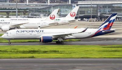 VQ-BFZ - Aeroflot Airbus A350-900