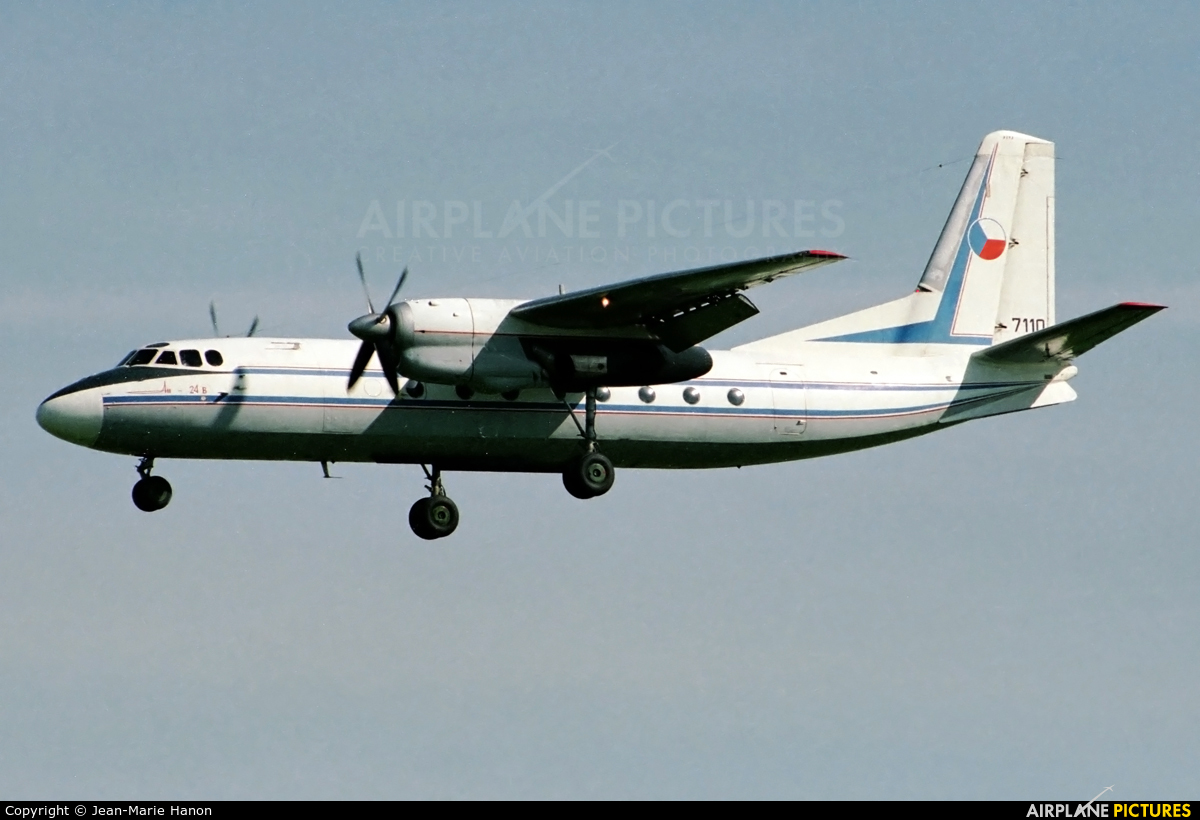 Czech - Air Force 7110 aircraft at Brussels - Zaventem