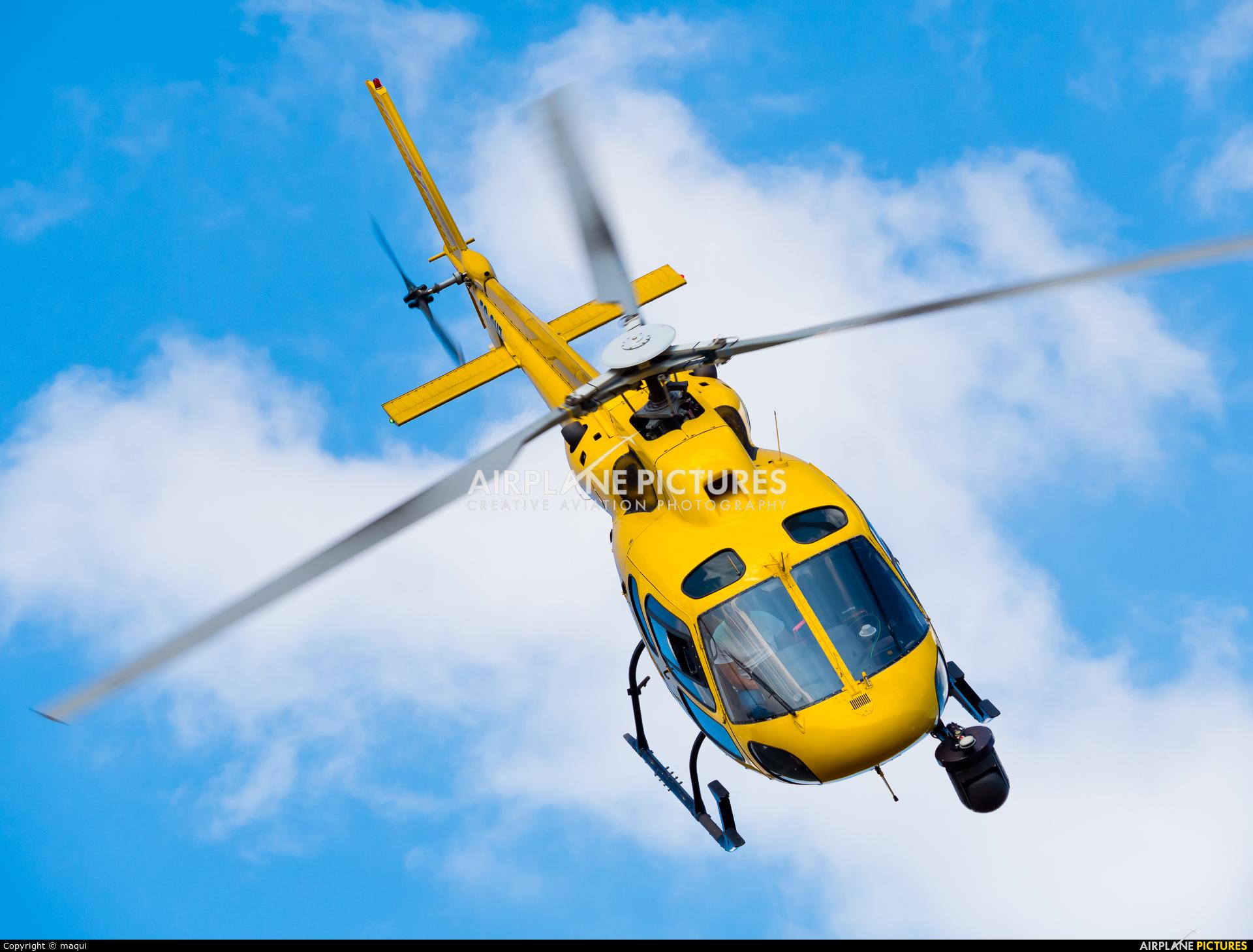 """Sky Helicopteros EC-GUZ aircraft at Campo de vuelo """"As Lamas"""""""