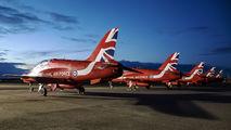 "XX310 - Royal Air Force ""Red Arrows"" British Aerospace Hawk T.1/ 1A aircraft"