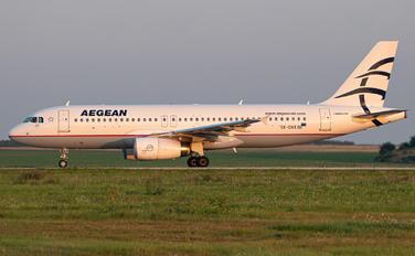 SX-DVX - Aegean Airlines Airbus A320