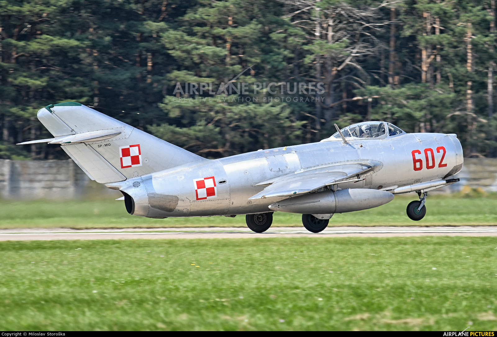 Private SP-MIG aircraft at Malacky - Kuchyna