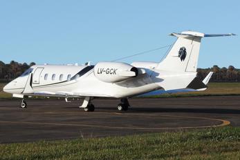 LV-GCK - Private Learjet 60
