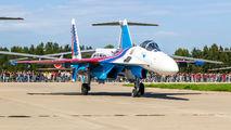 "51 - Russia - Air Force ""Russian Knights"" Sukhoi Su-35S aircraft"