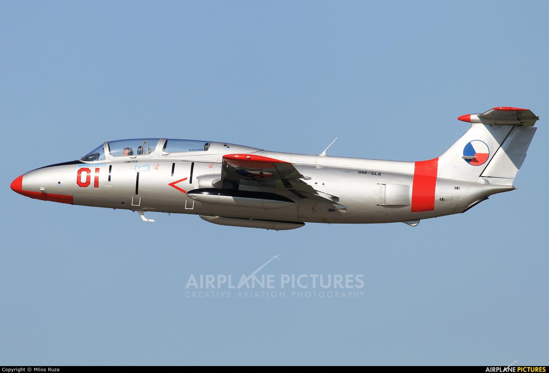 Private OM-SLK aircraft at Malacky - Kuchyna