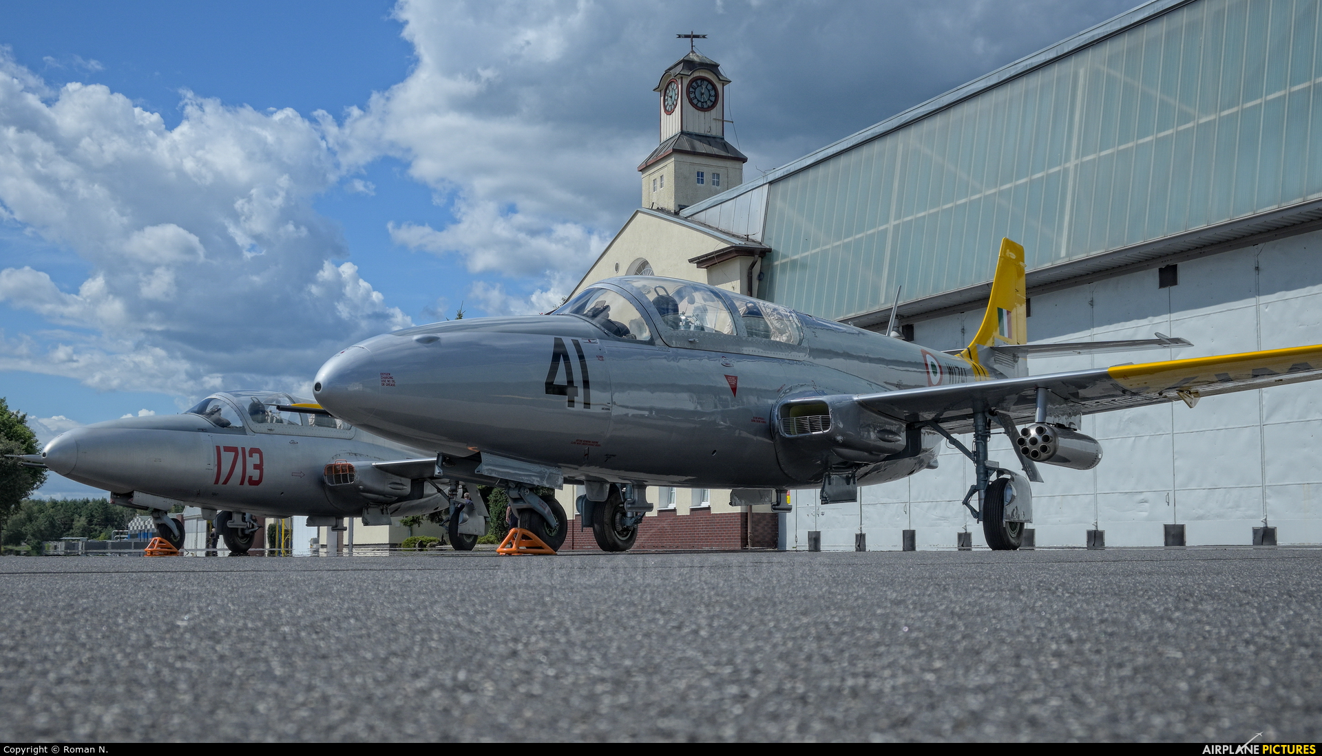 India - Air Force W1741 aircraft at Bydgoszcz - Szwederowo