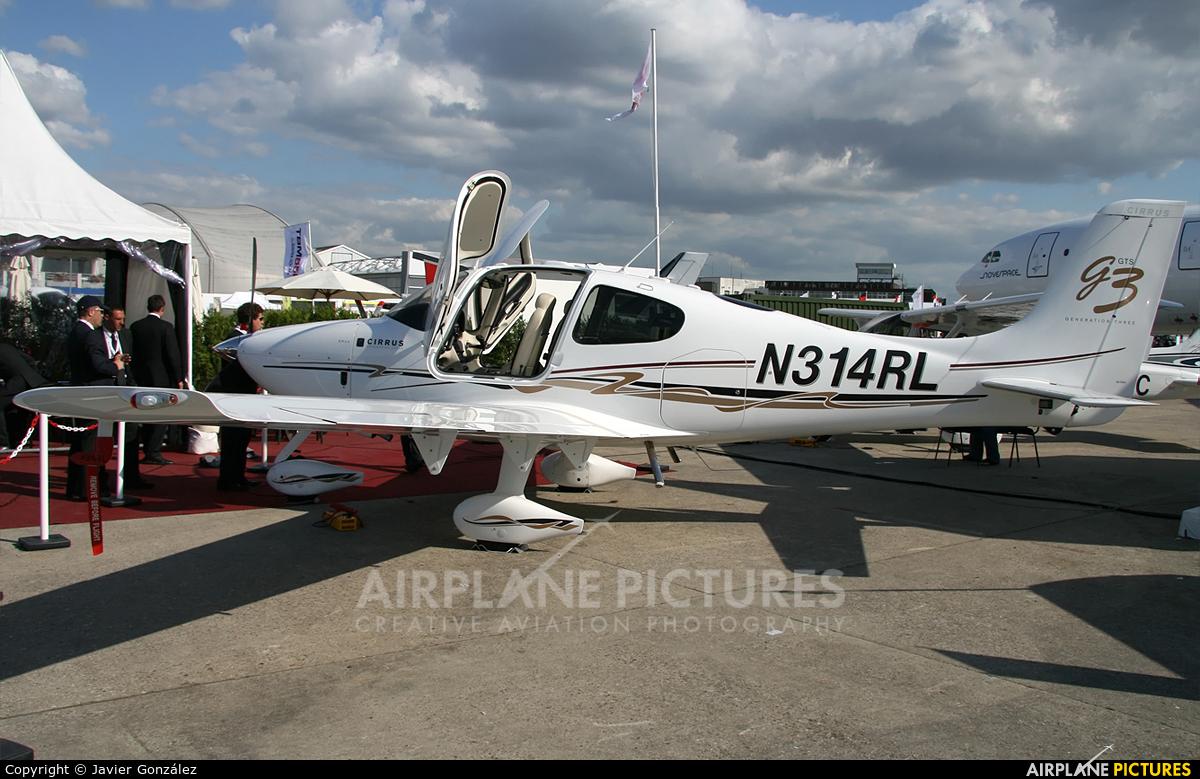 Private N314RL aircraft at Paris - Le Bourget