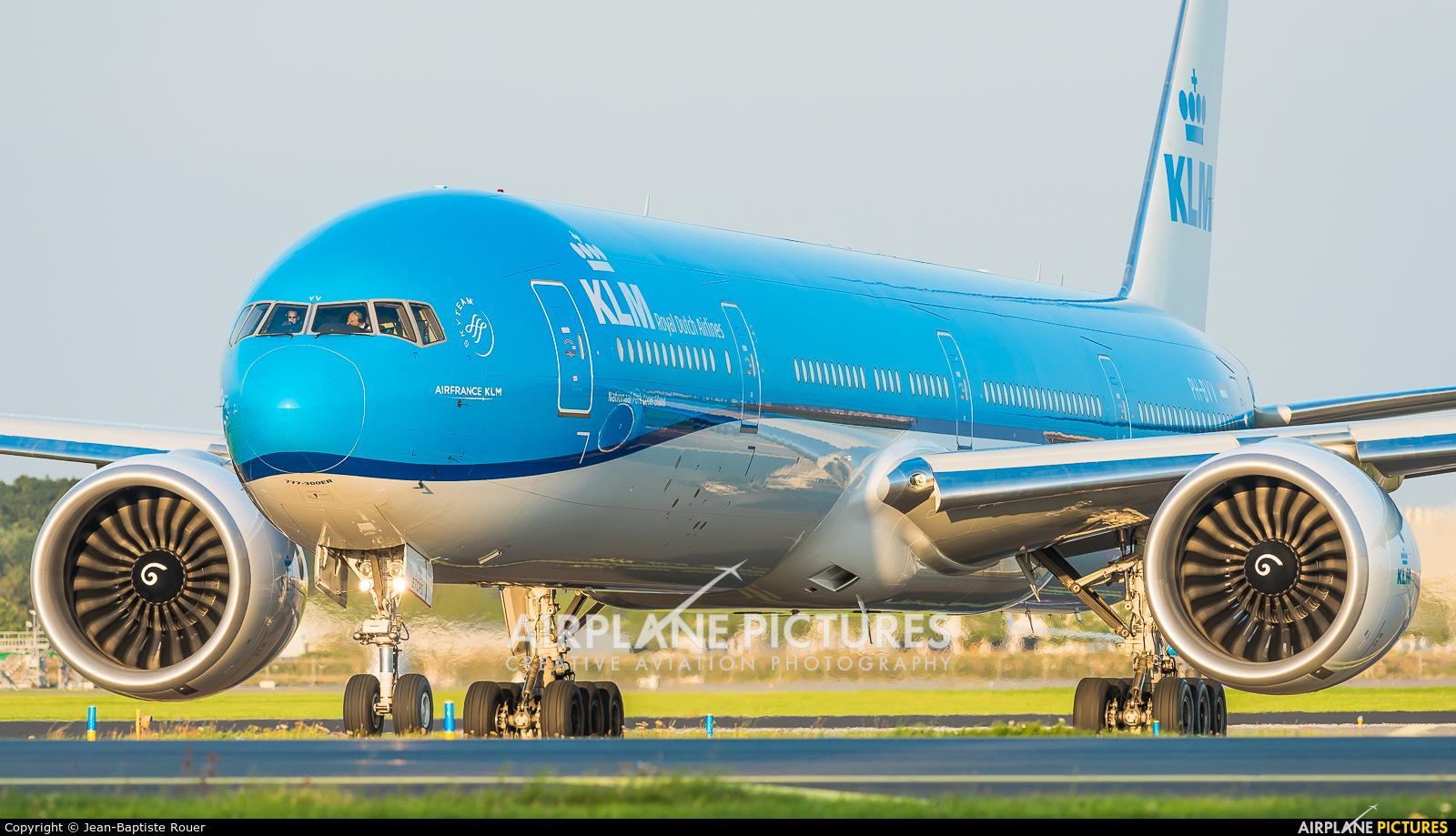 KLM PH-BVV aircraft at Amsterdam - Schiphol