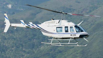 HK-4306 - Sociedad Aeronáutica de Santander Bell 206B Jetranger III