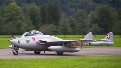 HB-RVN - Private de Havilland DH.100 Vampire FB.6