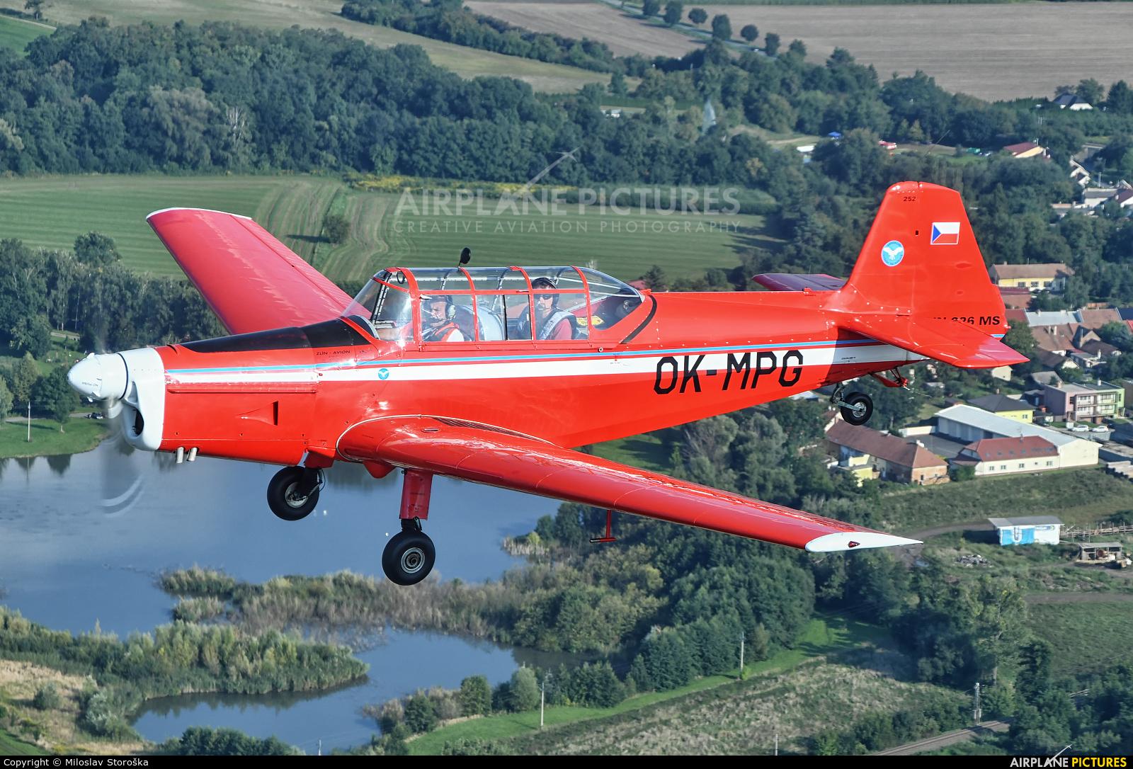 Aeroklub Vyskov OK-MPG aircraft at In Flight - Czech Republic