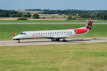 G-SAJN - Loganair Embraer EMB-145 E-99