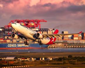 VH-EBR - QANTAS Airbus A330-200