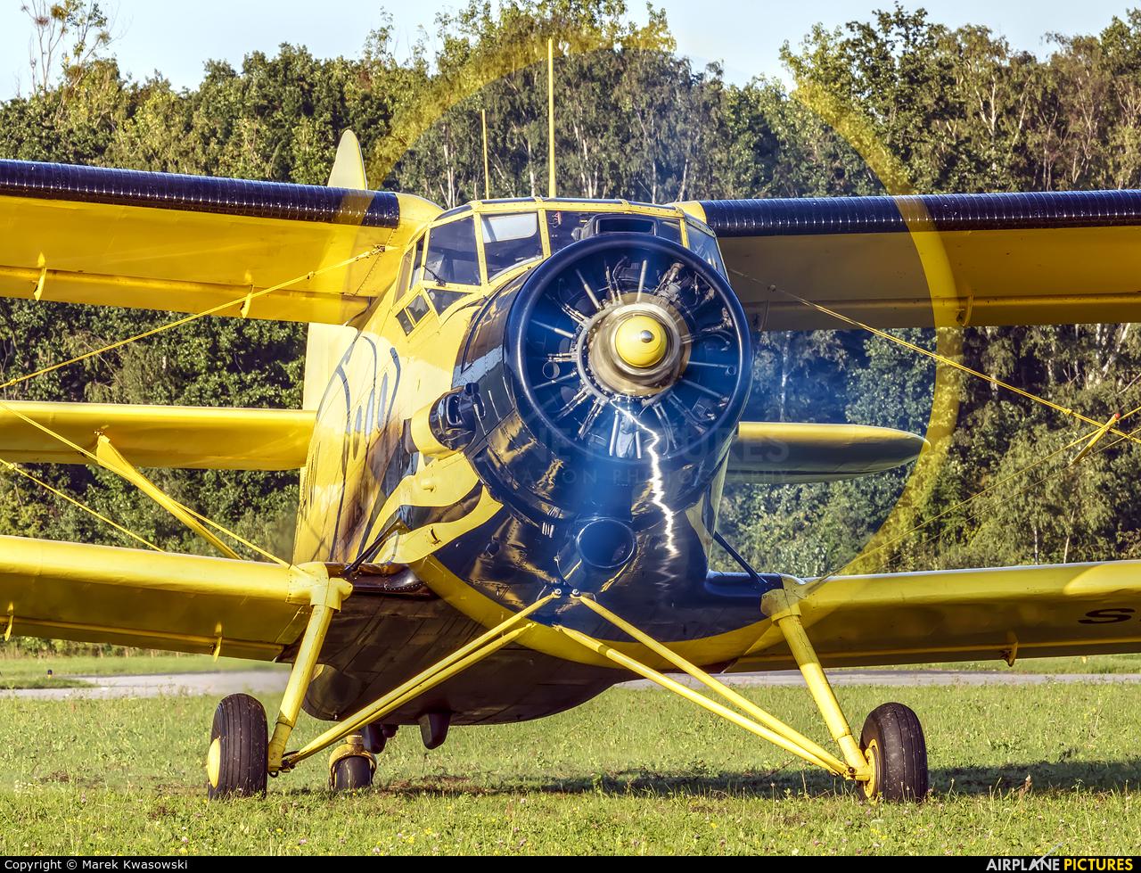 Aeroklub Gdański SP-ANI aircraft at Gdynia- Babie Doły (Oksywie)