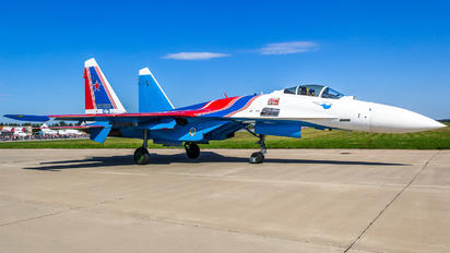 """52 - Russia - Air Force """"Russian Knights"""" Sukhoi Su-35S"""