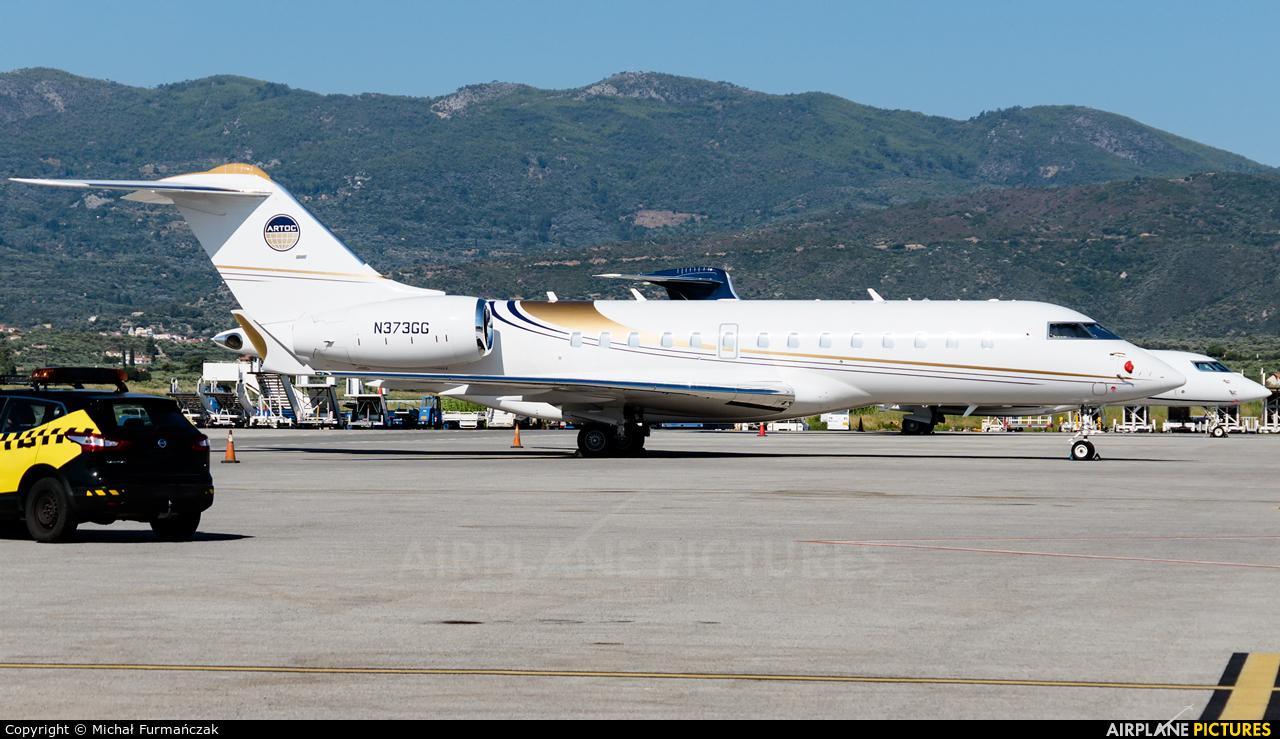 Private N373GG aircraft at Samos