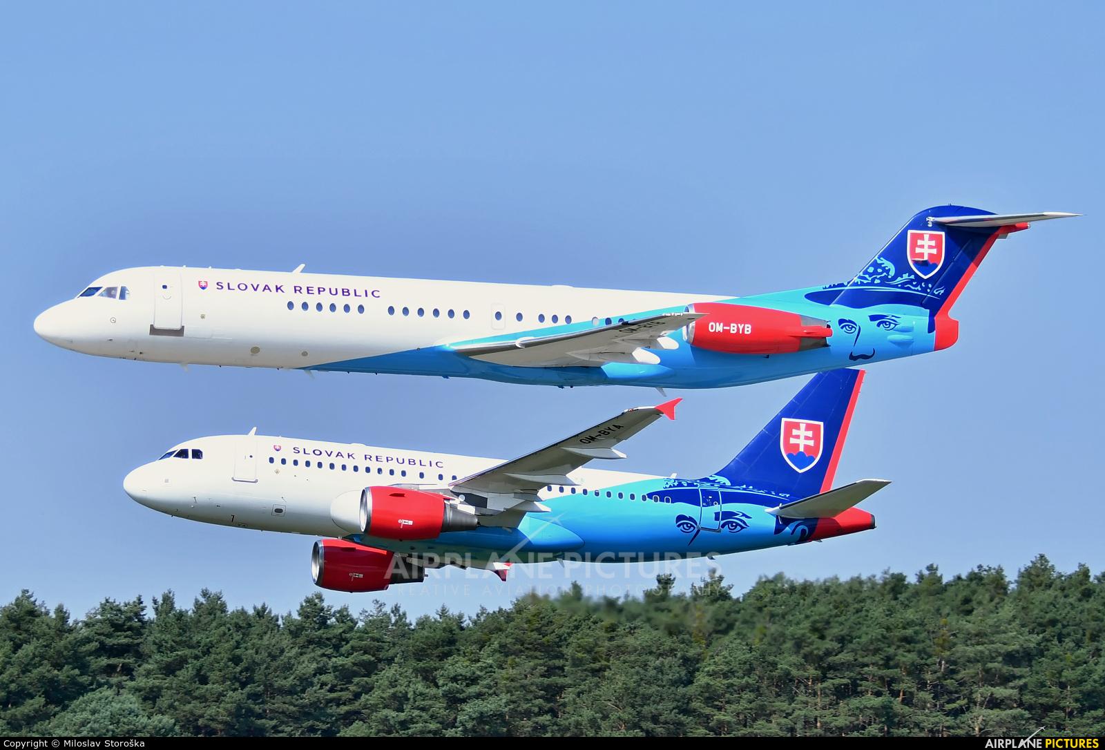 Slovakia - Government OM-BYB aircraft at Malacky - Kuchyna