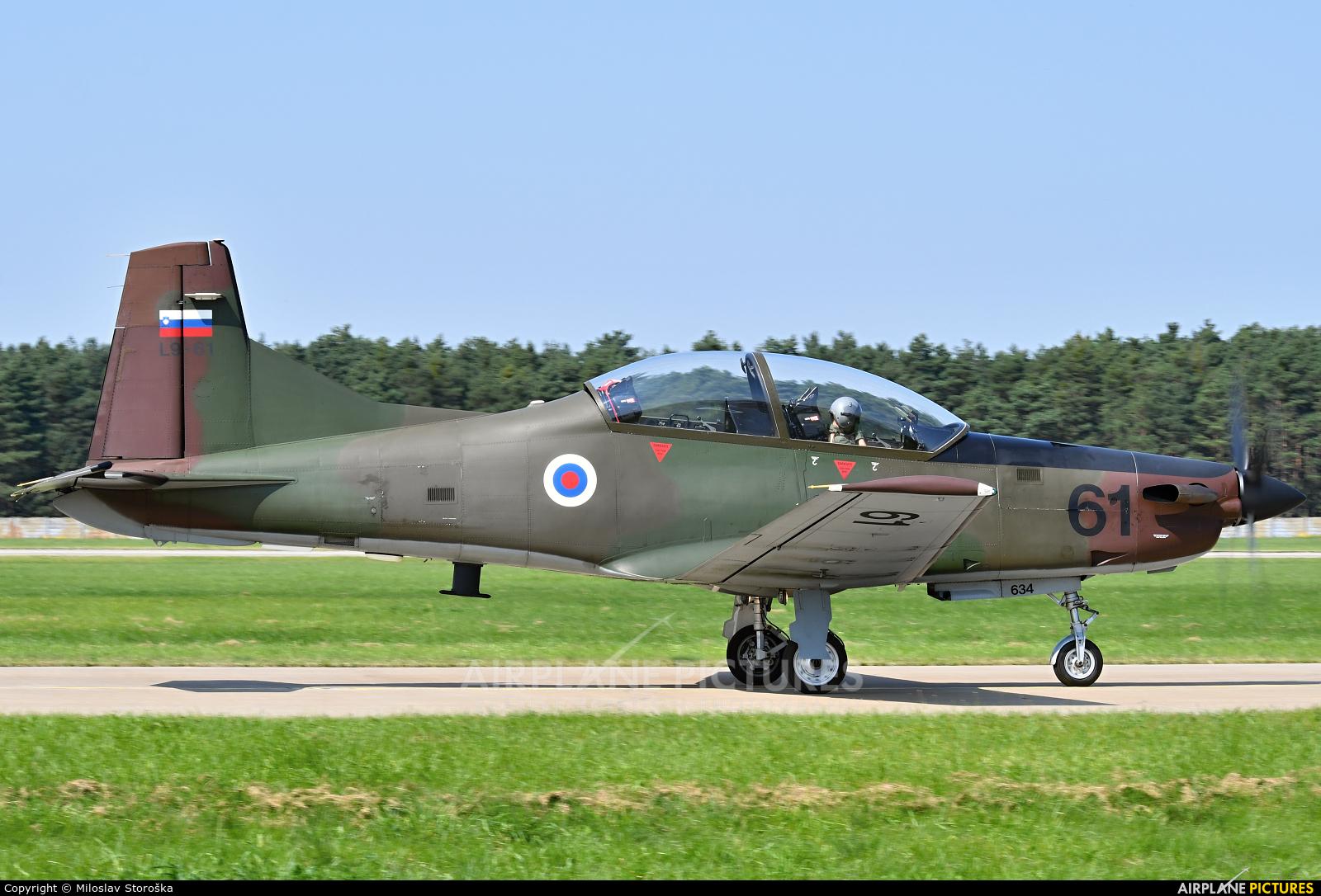 Slovenia - Air Force L9-61 aircraft at Malacky - Kuchyna