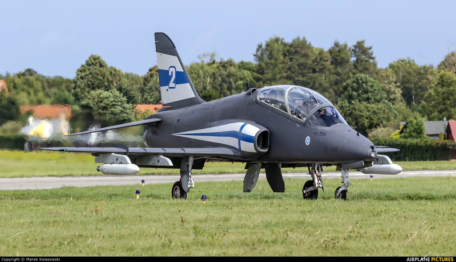 Finland - Air Force: Midnight Hawks HW-354 aircraft at Gdynia- Babie Doły (Oksywie)