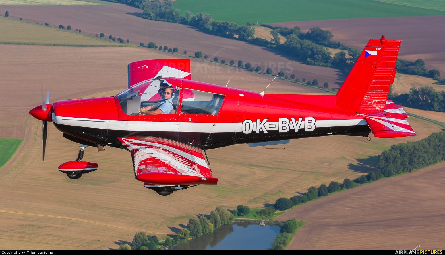 Aeroklub Bŕeclav OK-BVB aircraft at In Flight - Czech Republic