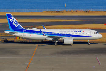 JA211A - ANA - All Nippon Airways Airbus A320 NEO