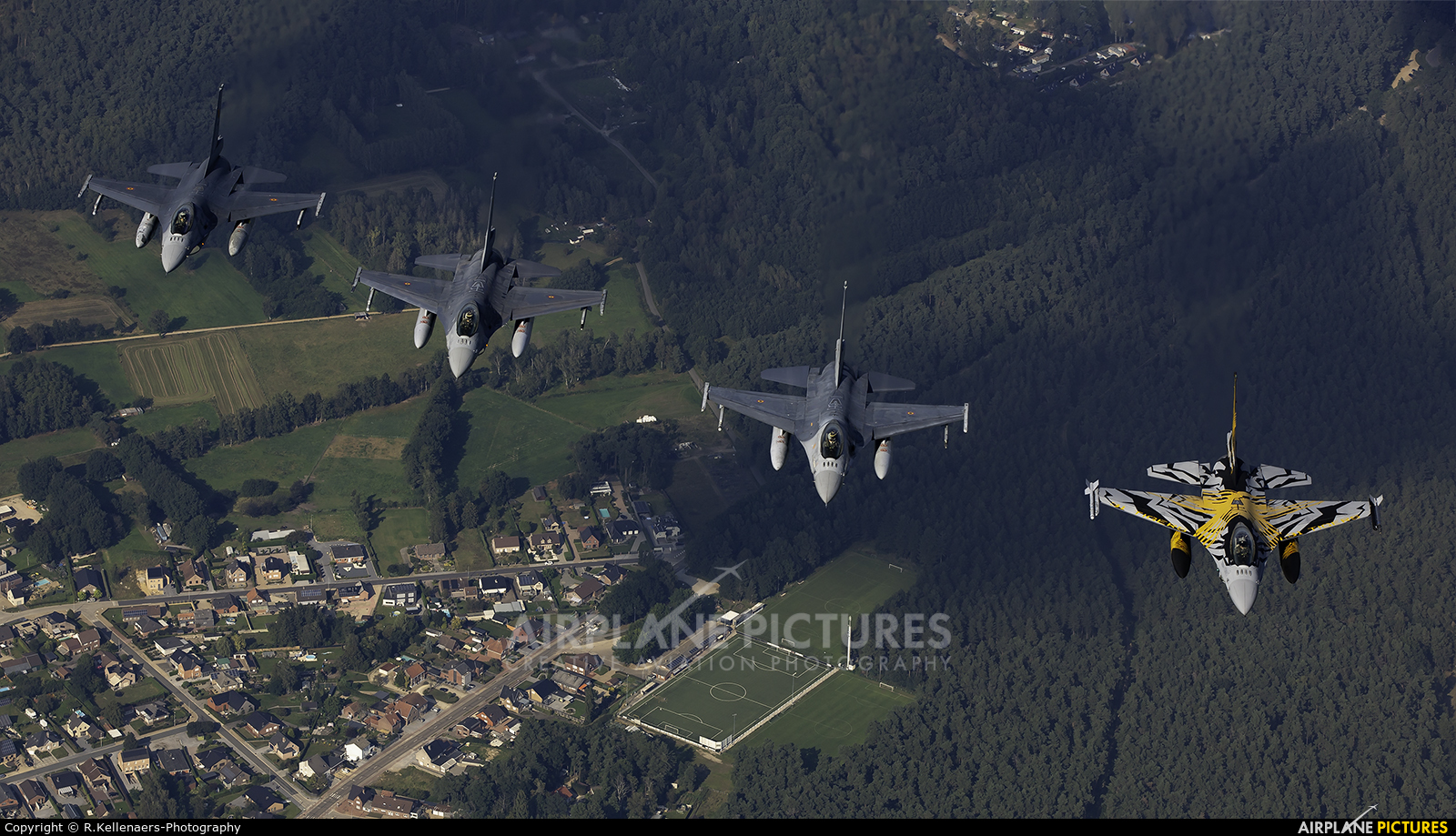 Belgium - Air Force FA-136 aircraft at In Flight - Belgium