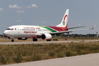 CN-ROU - Royal Air Maroc Boeing 737-800
