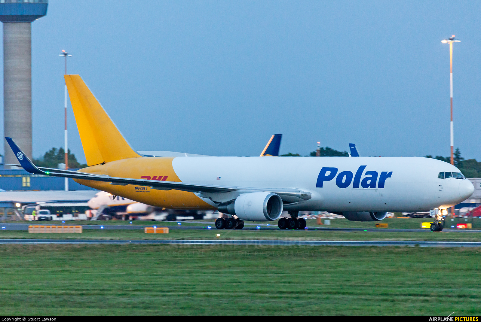 Polar Air Cargo N643GT aircraft at East Midlands