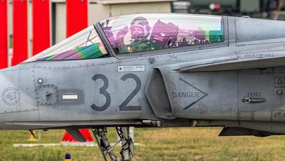 32 - Hungary - Air Force SAAB JAS 39C Gripen