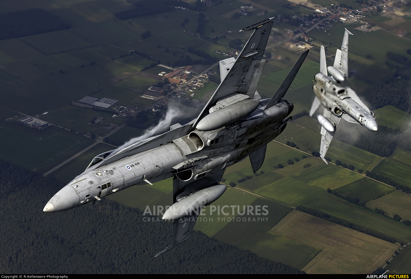 Finland - Air Force HN-418 aircraft at In Flight - Belgium