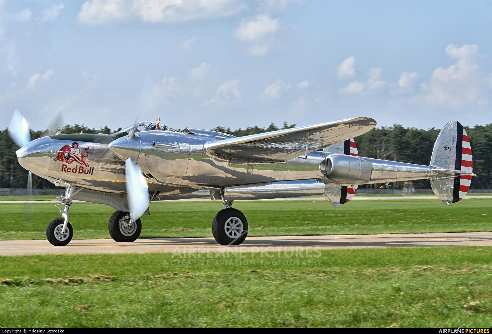 The Flying Bulls N25Y aircraft at Malacky - Kuchyna